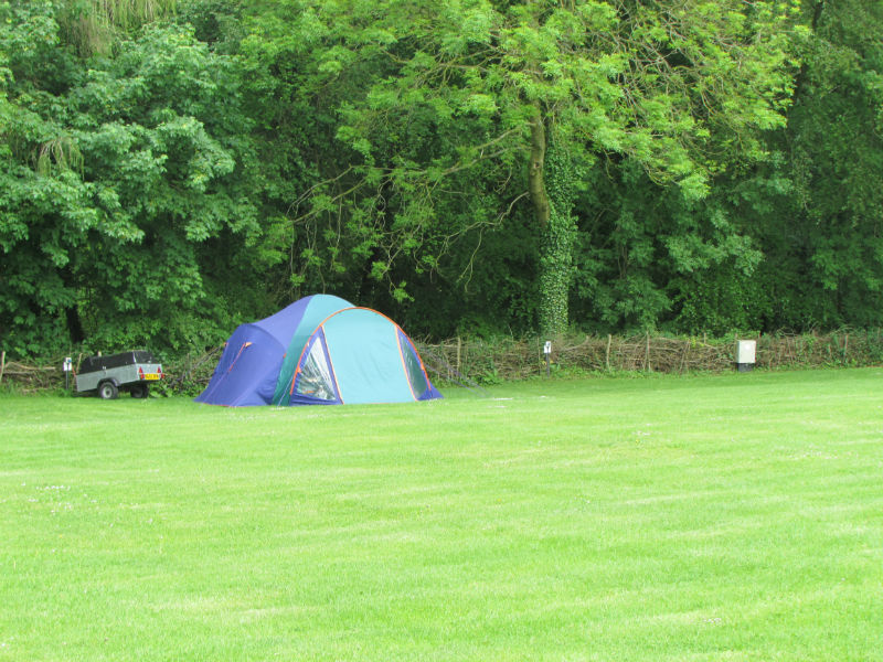 Cotswold Water Park campers leave tent