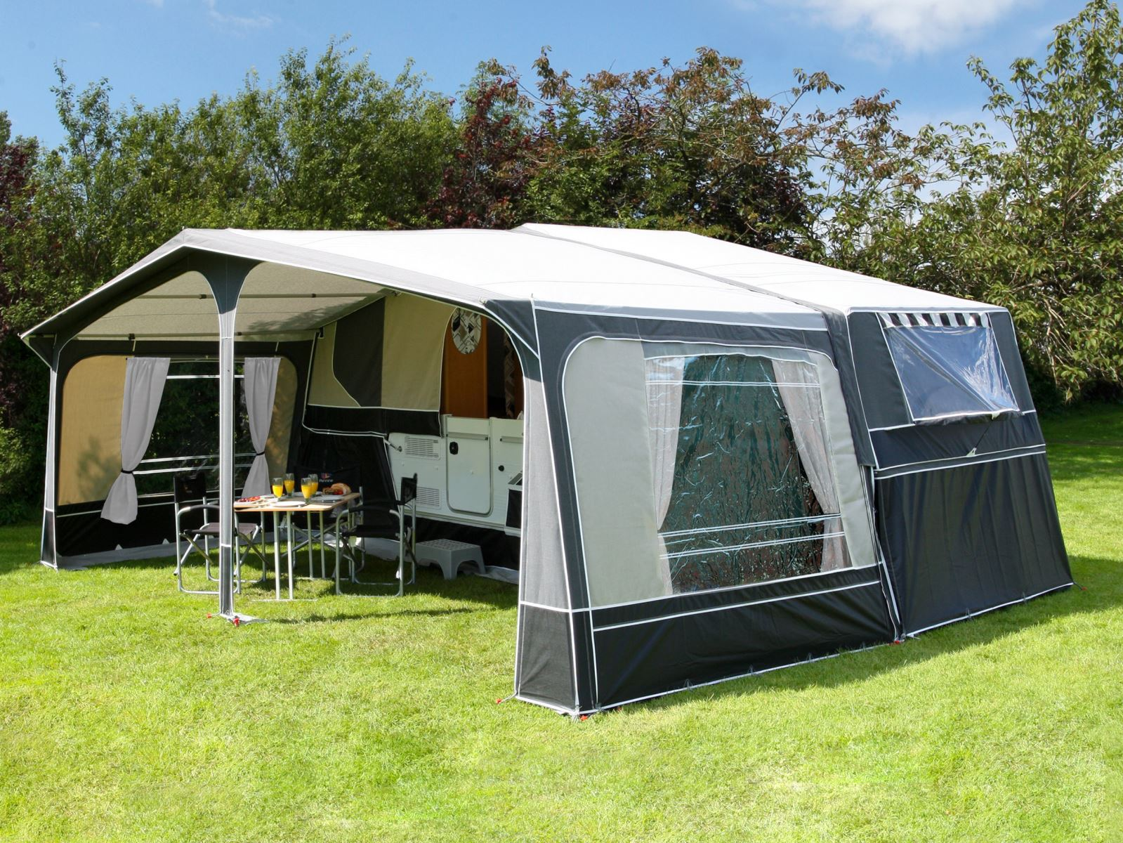 what can be used for trailer tent
