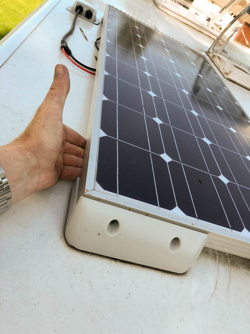 solar panel is checked