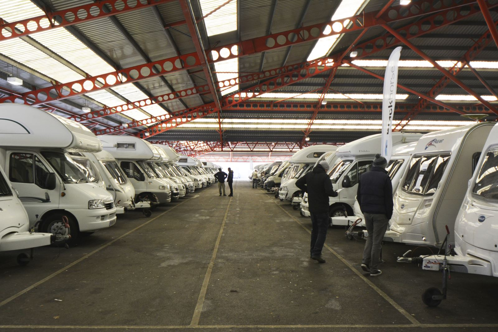 Motorhome auction