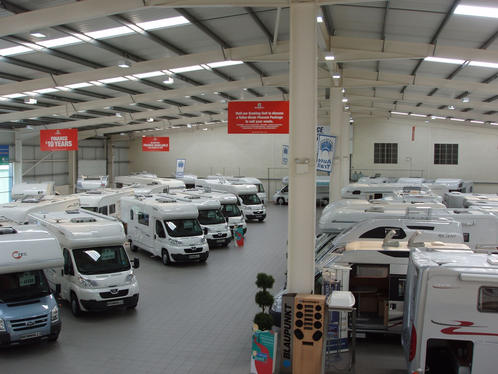 Brownhills motorhome dealer