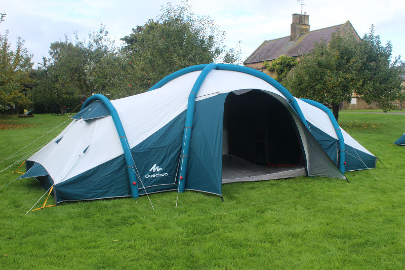 A Good Value Large Family Tent That Uses Fresh Black Technology Designed To Keep The Cool In Hot Weather And Heat When Its Cold Outside