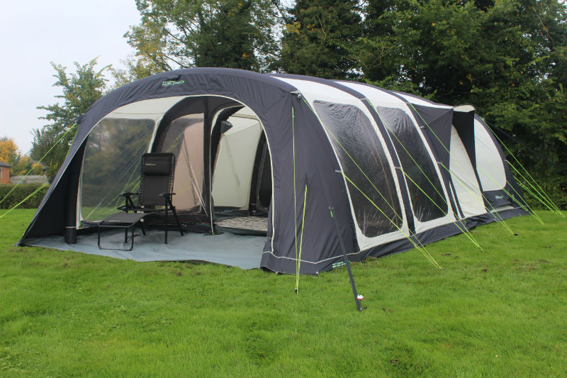 Quality Design Construction And Materials Coupled With Space Versatility Make This A Superb Large Inflatable Tent For Big Family Holidays