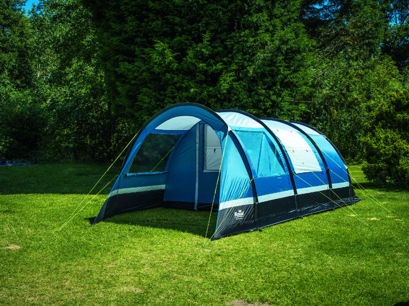 The 3000mm hydrostatic head material covered entrance doors and protected zips prevents external moisture from seeping in when the summer showers set in. & Royal At Home Out There tents 2018 - Advice u0026 Tips - Camping - Out ...