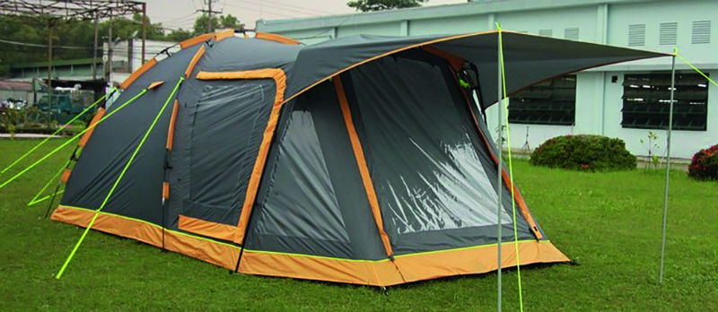 The Khyam Explorer is a brand new small family Quick Erect tent for 2018. The Explorer builds on the success of the Khyam Freelander. & Khyam tents 2018 - Advice u0026 Tips - Camping - Out and About Live