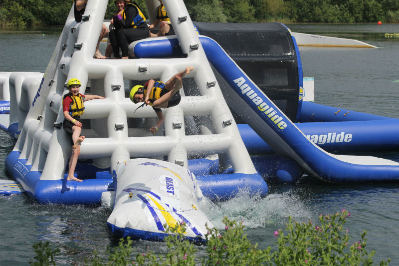 New campsite aquapark is britain 39 s biggest camping news camping out and about live for Tattershall lakes swimming pool