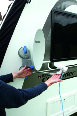 Caravan Satellite Dish Guide - Practical Advice - New & Used