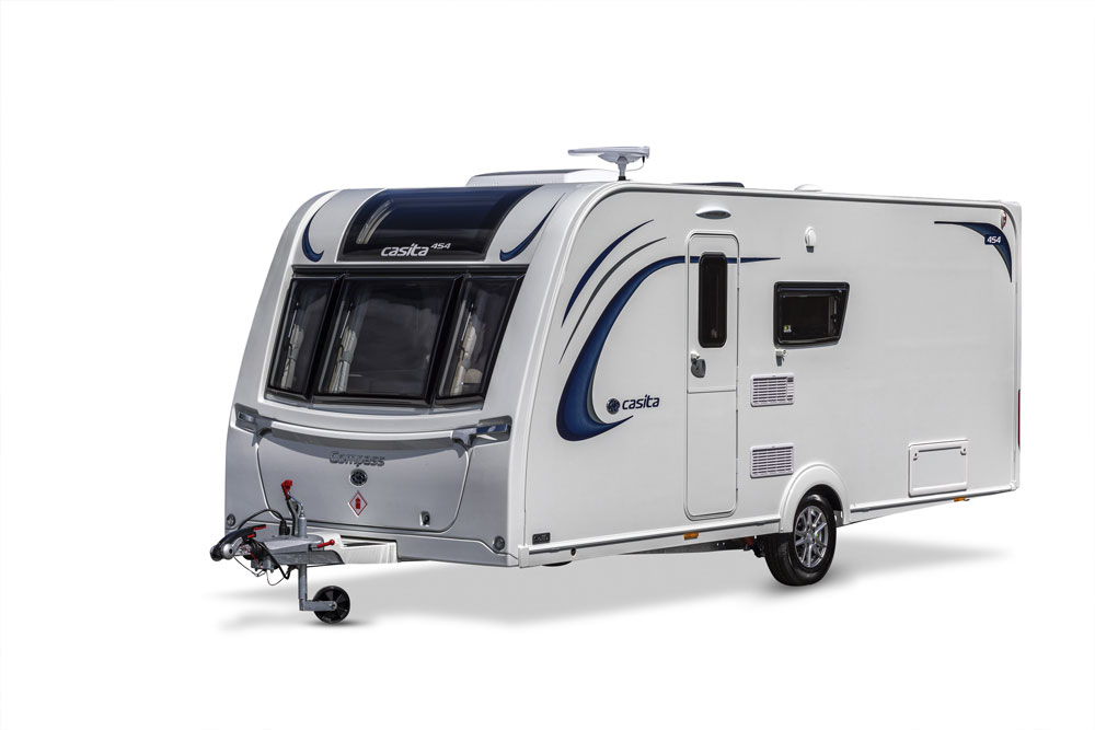The Compass Casita 454 caravan