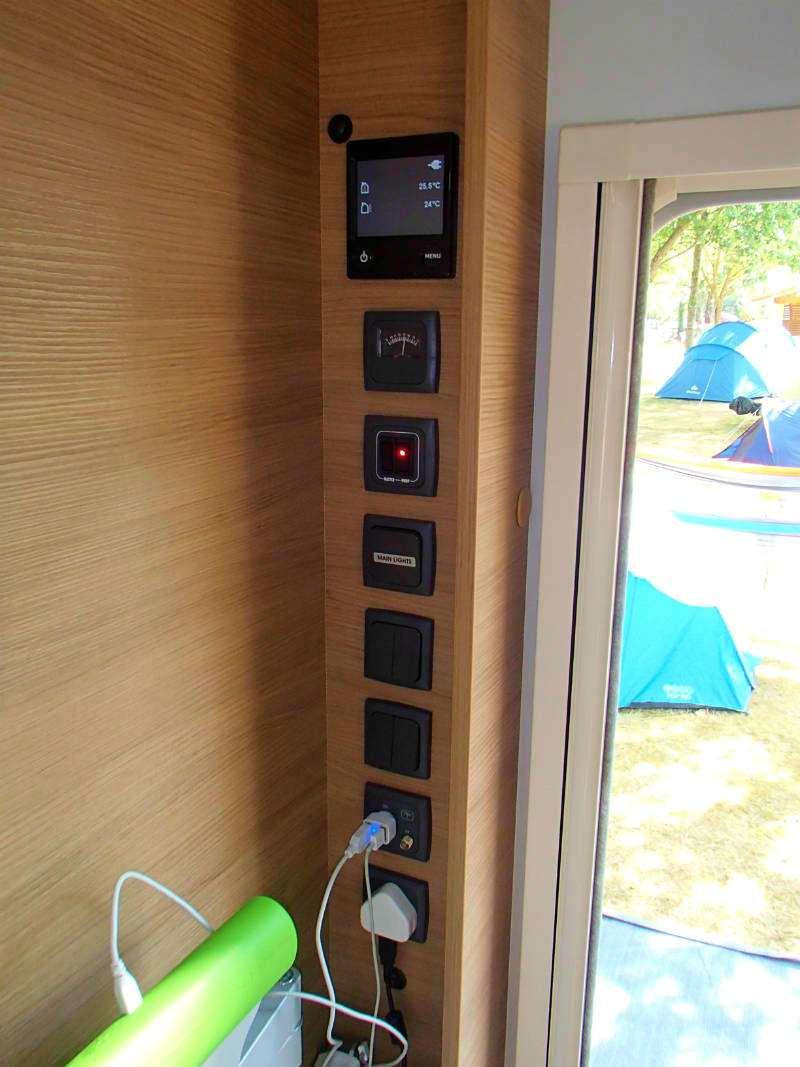 Our Caravans Adria Adora 613 Ut Thames Advice Tips New Used Caravan Wiring Diagram Power And Lighting Sockets