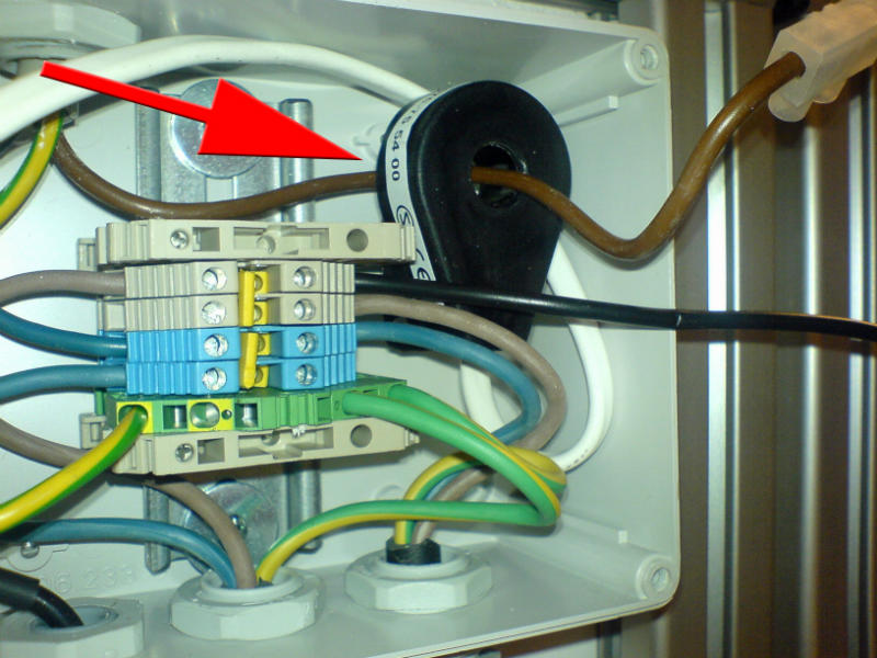 Alde's load sensing coil