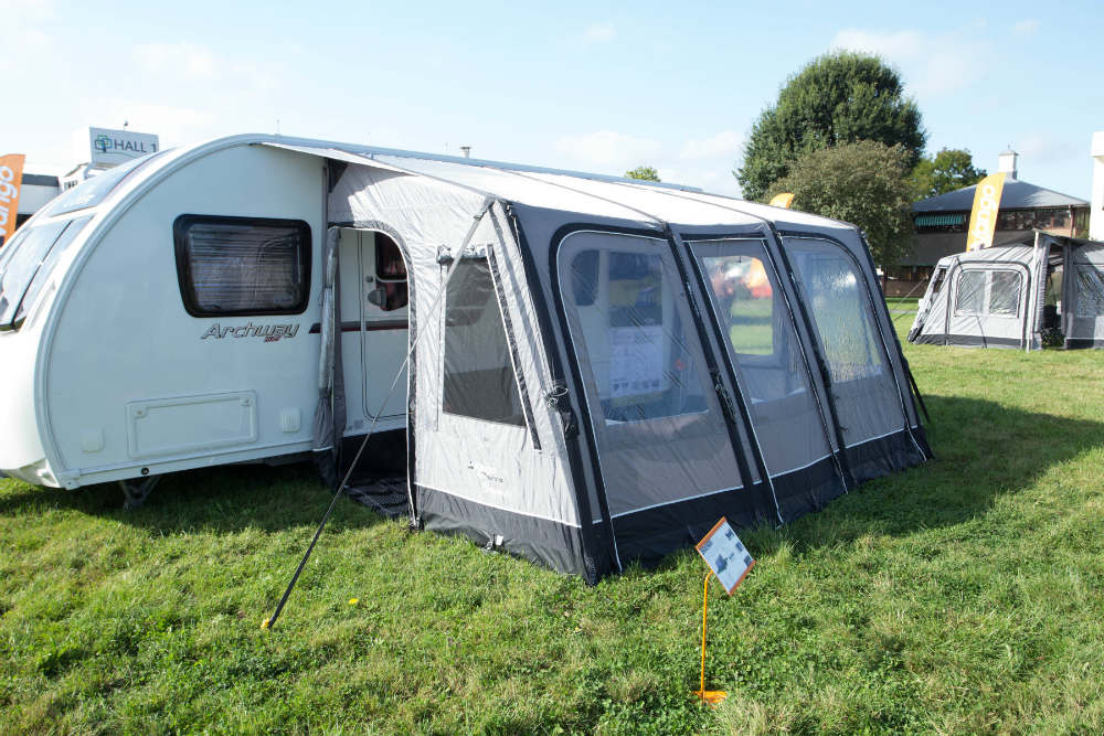Caravan awnings and porches: What's new for 2017 - Advice ...