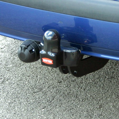 Witter towbar with new coating