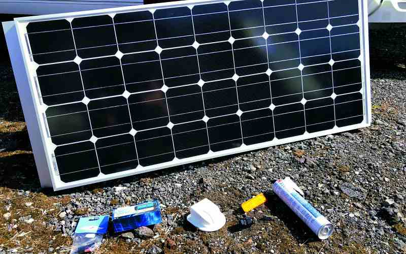 Step 3 Check your solar panel Kit
