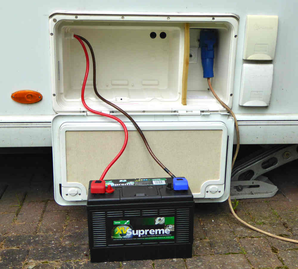 Diy  Leisure Battery Wiring Fix - Practical Advice