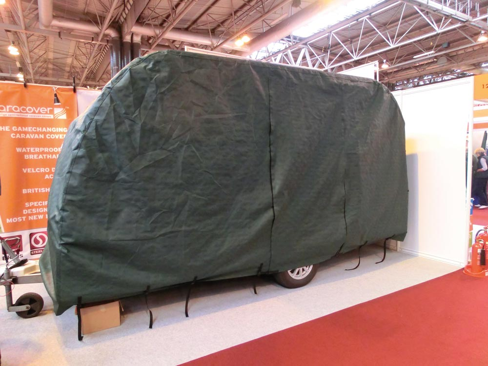 Carqcover tailored caravan cover