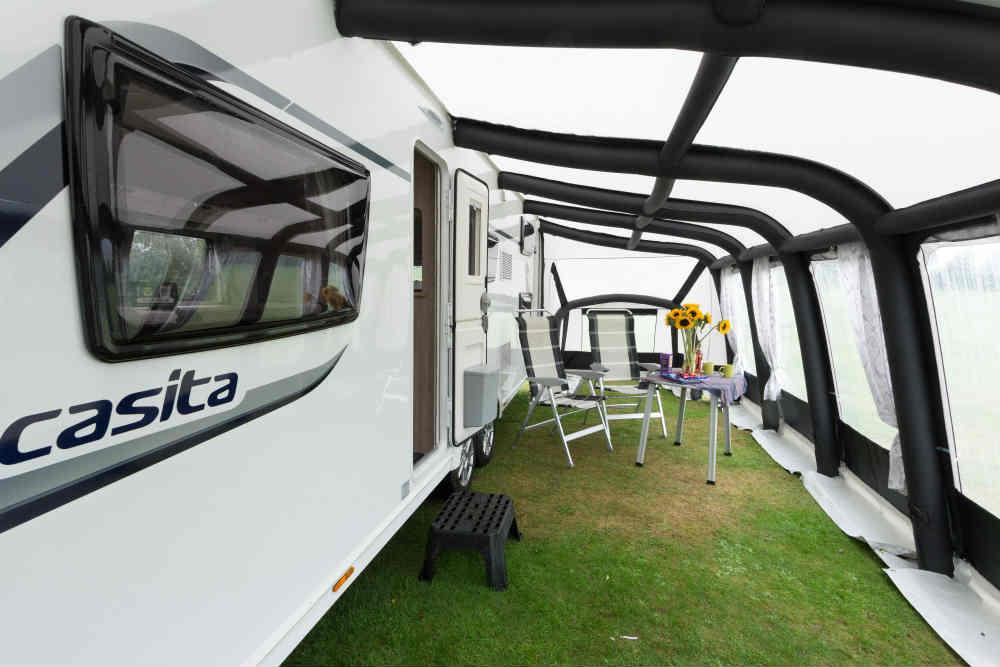Interior Of The Modul Air Caravan Awning