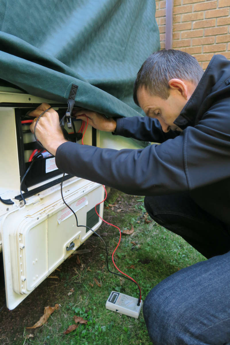 check leisure batteries all through the winter