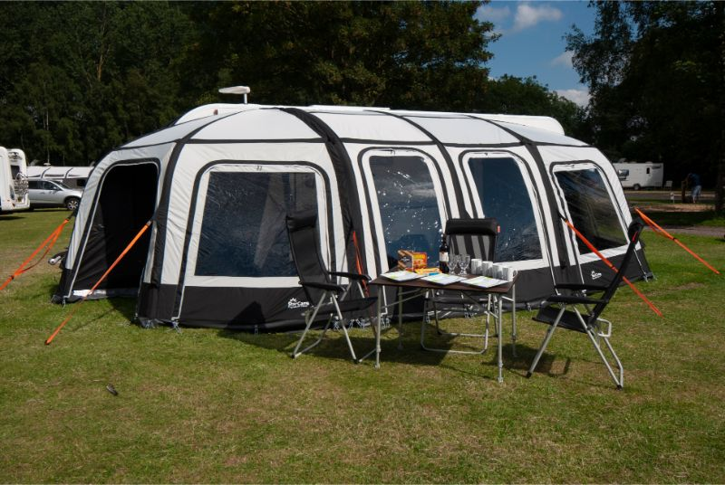 Awning review: Dorema Starcamp Magnum Air Force 260 ...