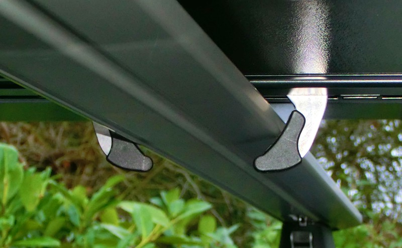alternative roof box attachment clamp
