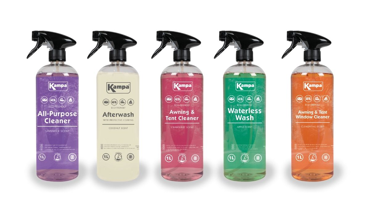 Kampa Eco-Friendly Cleaning Fluids