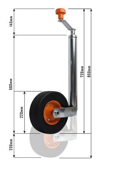 Is this the ultimate caravan jockey wheel? - Caravan News