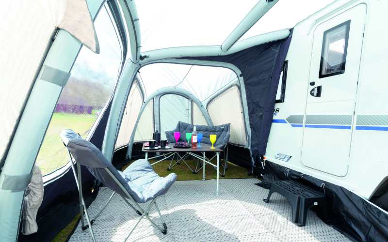 Caravan accessory review: Outwell Ripple 320SA awning ...