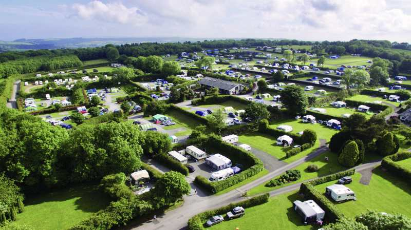 Woodlands Grove Caravan Park, Devon