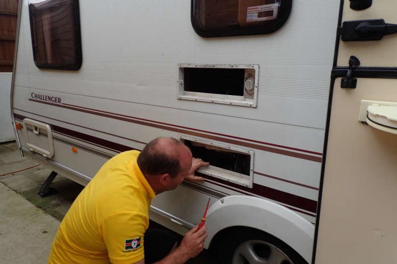 Maintenance: Caravan Refrigeration Repair - Advice & Tips - New