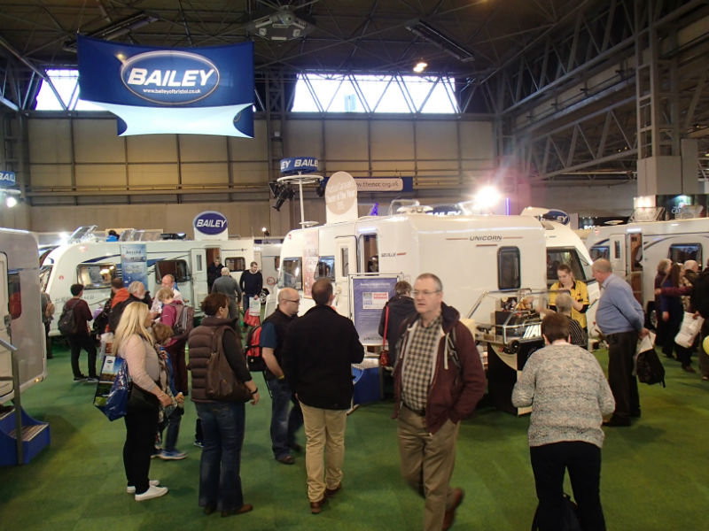 visit a caravan show