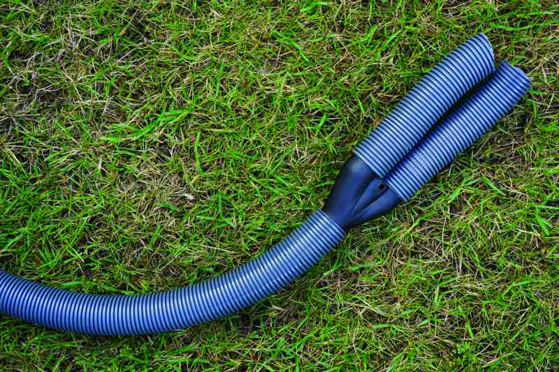 caravan waste water outlet pipes