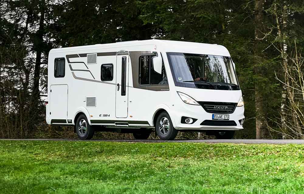 German Premium Motorhome Manufacturer Hymer Has Revealed Two New Exsis Coachbuilts Which Are The Highlight Of Its 2018 Range Motorhomes And Van