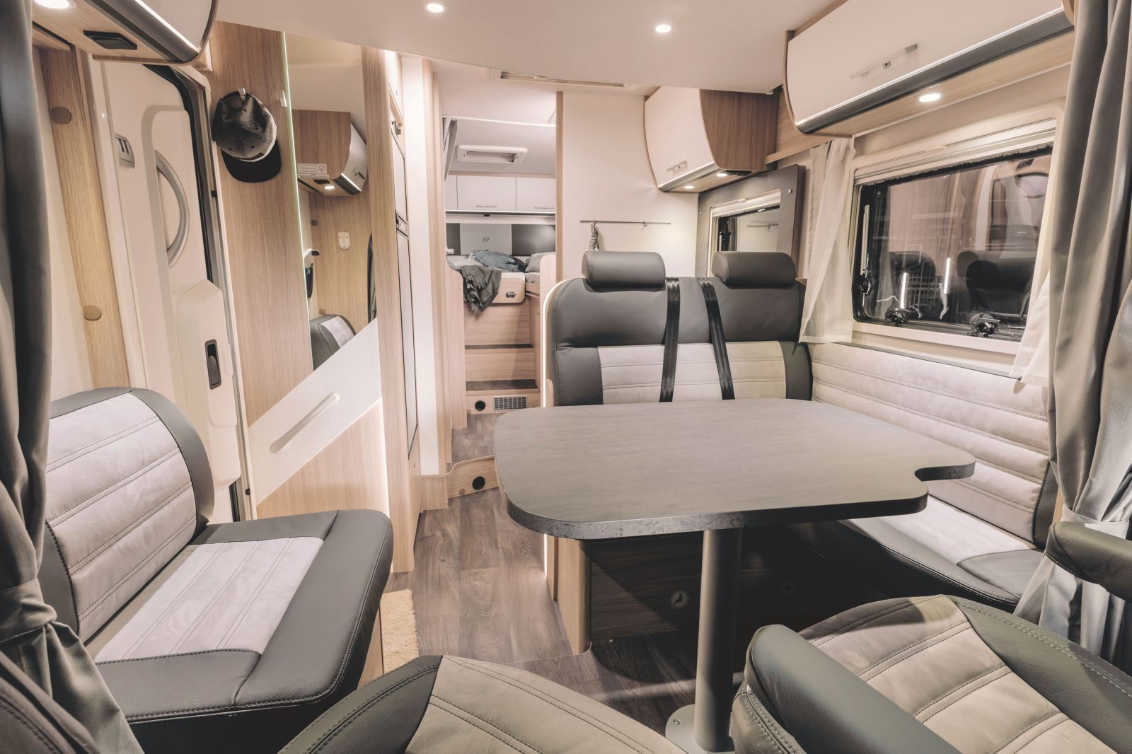Interior of the Sunlight T68 Special Edition XV motorhome