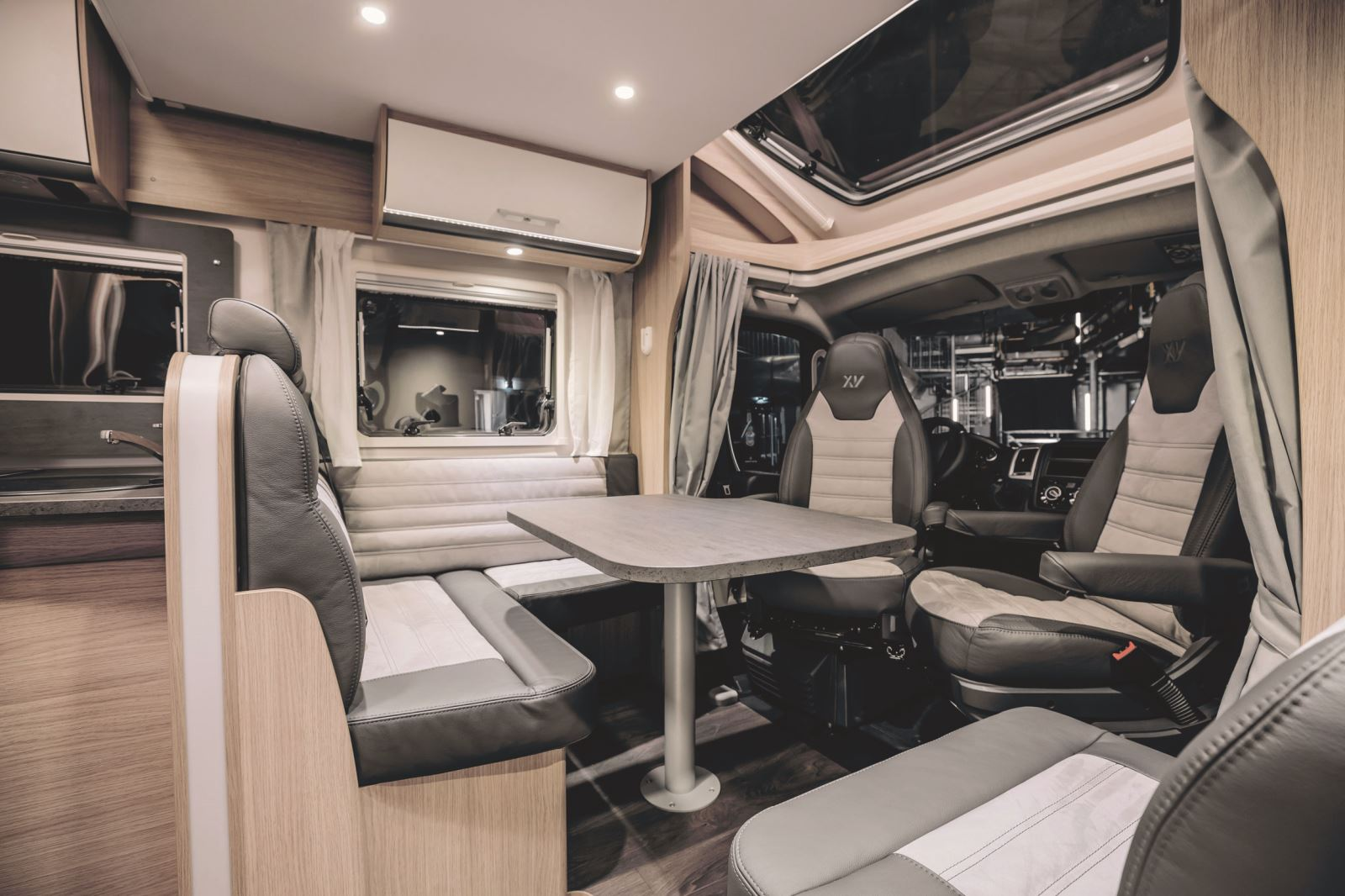 Interior of the T68 Sunlight Special Edition XV motorhome