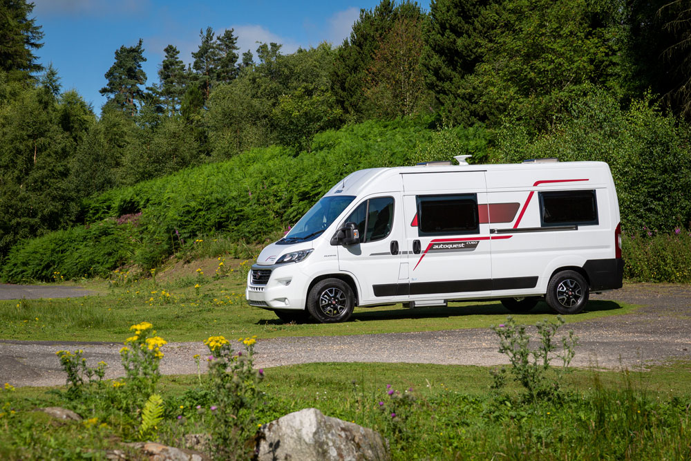 The Elddis Autoquest CV60 campervan