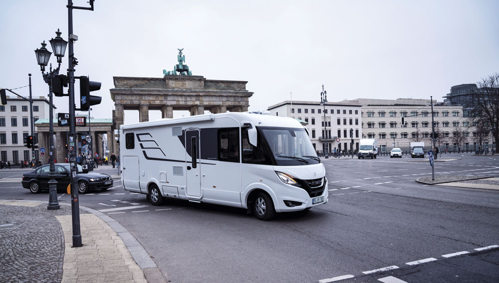 The Hymer B-Class MasterLine motorhome