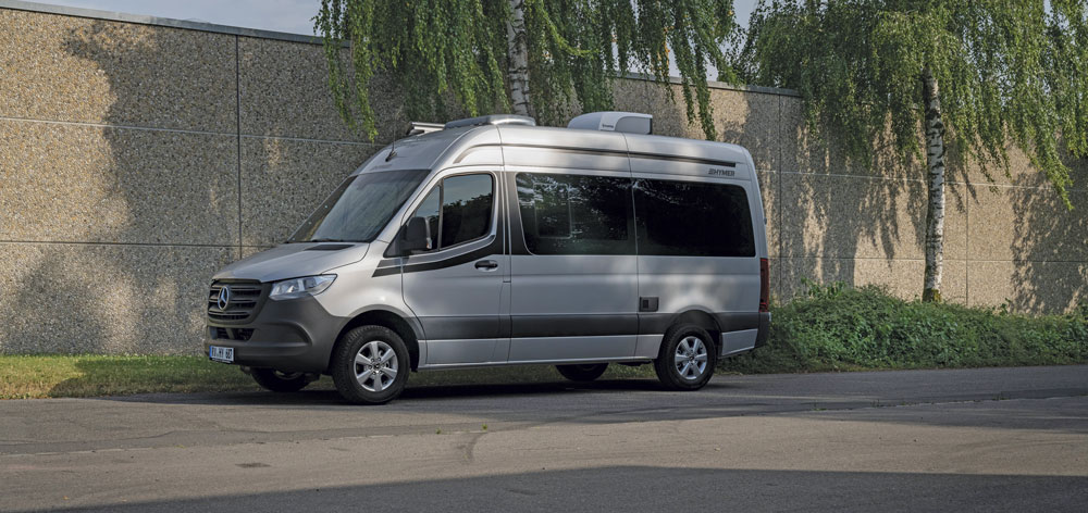 The Hymer DuoCar campervan