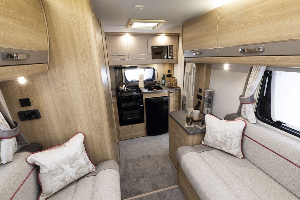 Interior of the Marquis Majestic 115 motorhome