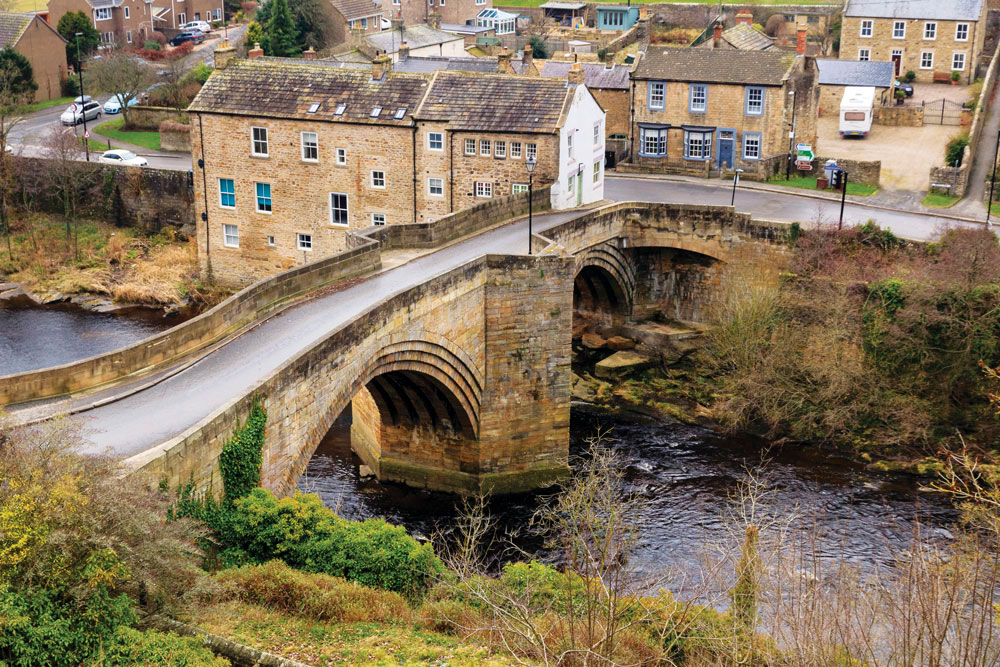 The bridge at Barnard Castle