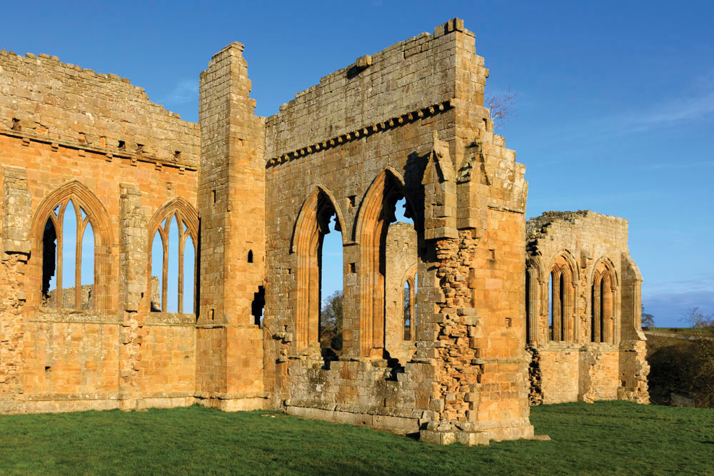 Egglestone Abbey in Teesdale