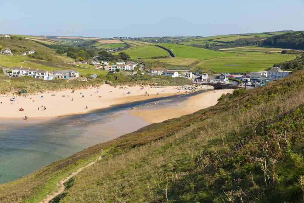 Image of Mawgan Porth Beach, Cornwall