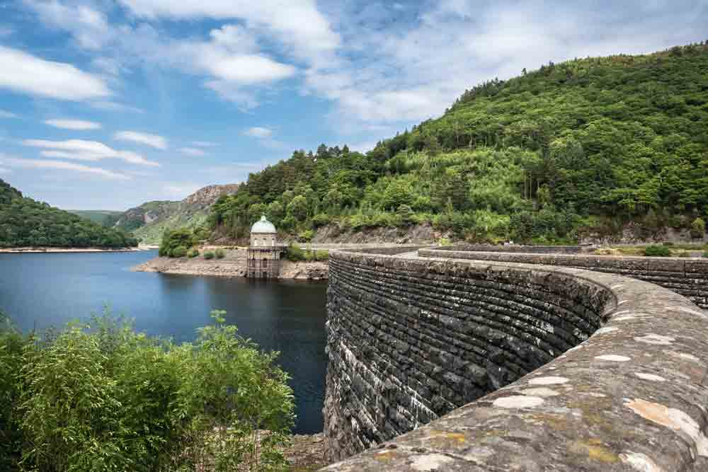 Image of Craig Goch Darn in Elan Valley