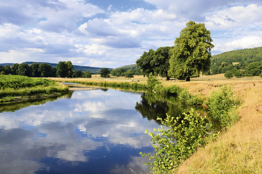 The River Derwent in the Peak District