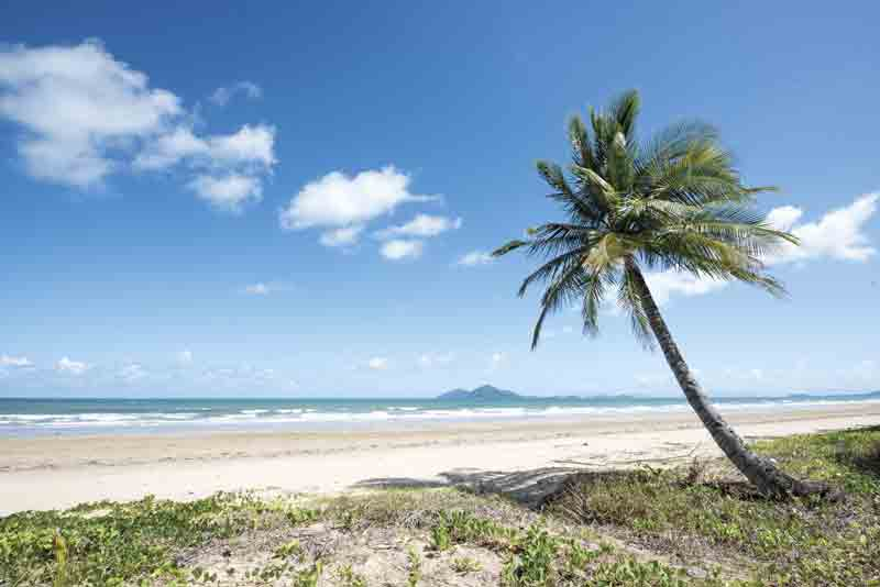 Image of a beach in Queensland, Australia