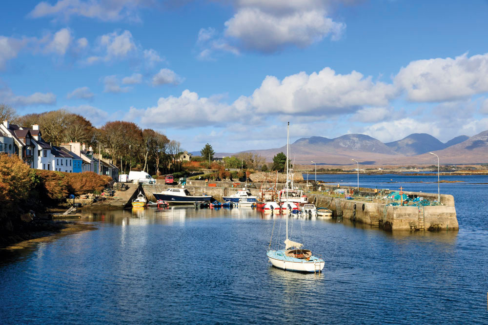 The harbour at Roundstone