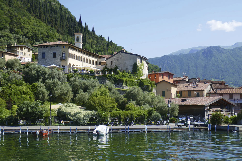Monte Isola, which is easy to reach by ferry