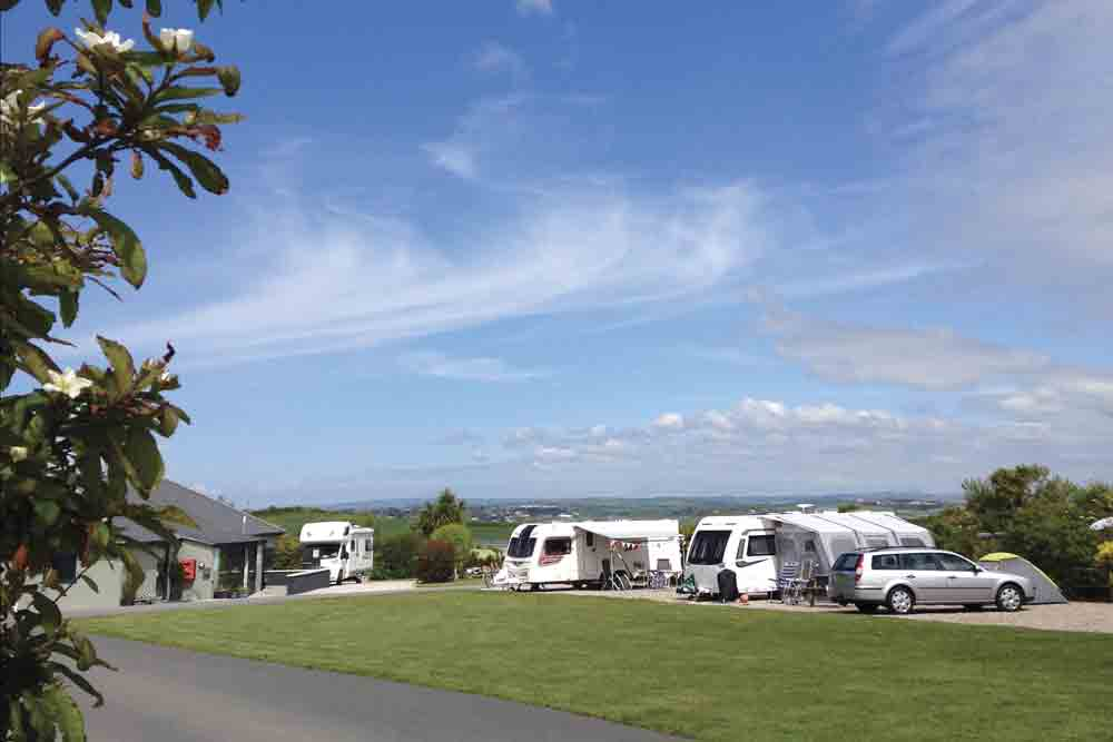 Padstow Touring Park in Cornwall