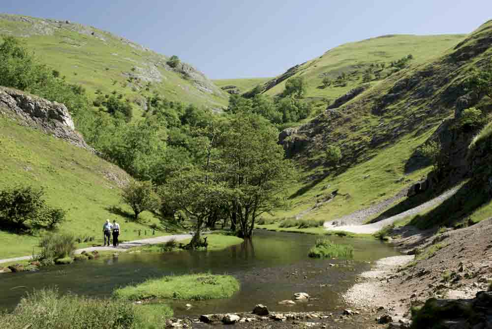 Image of Dovedale in the Peak District