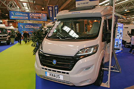 The National Motorhome Awards 2016: Fixed Double Bed Motorhome of the Year