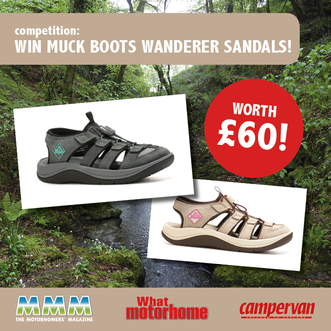 b5f50e43f1c085 Win a pair of Muck Boots Wanderer sandals
