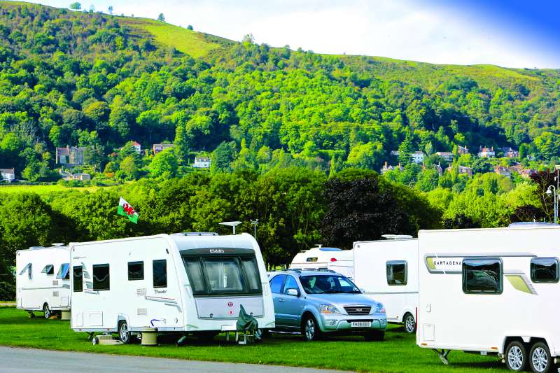 The Malverns is perfect for caravanning